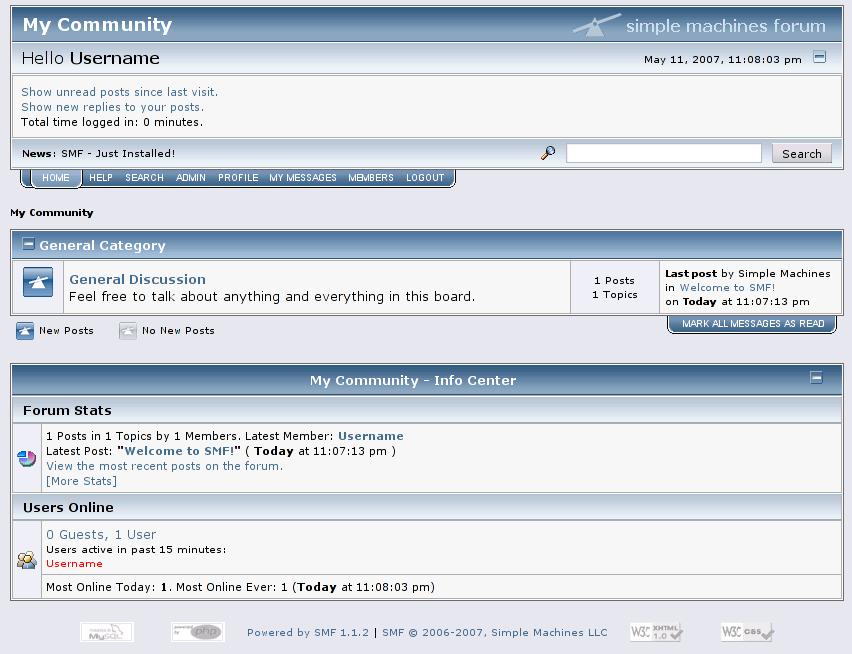 En İyi Forum Scriptleri, SMF